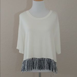 Fringe Relaxed Top